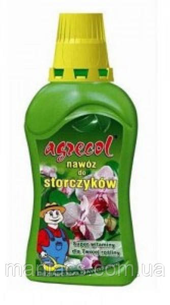 """Жидкое многокомпонентное удобрение Agrecol с микроэлементами """"Для орхидей"""", 350 мл"""