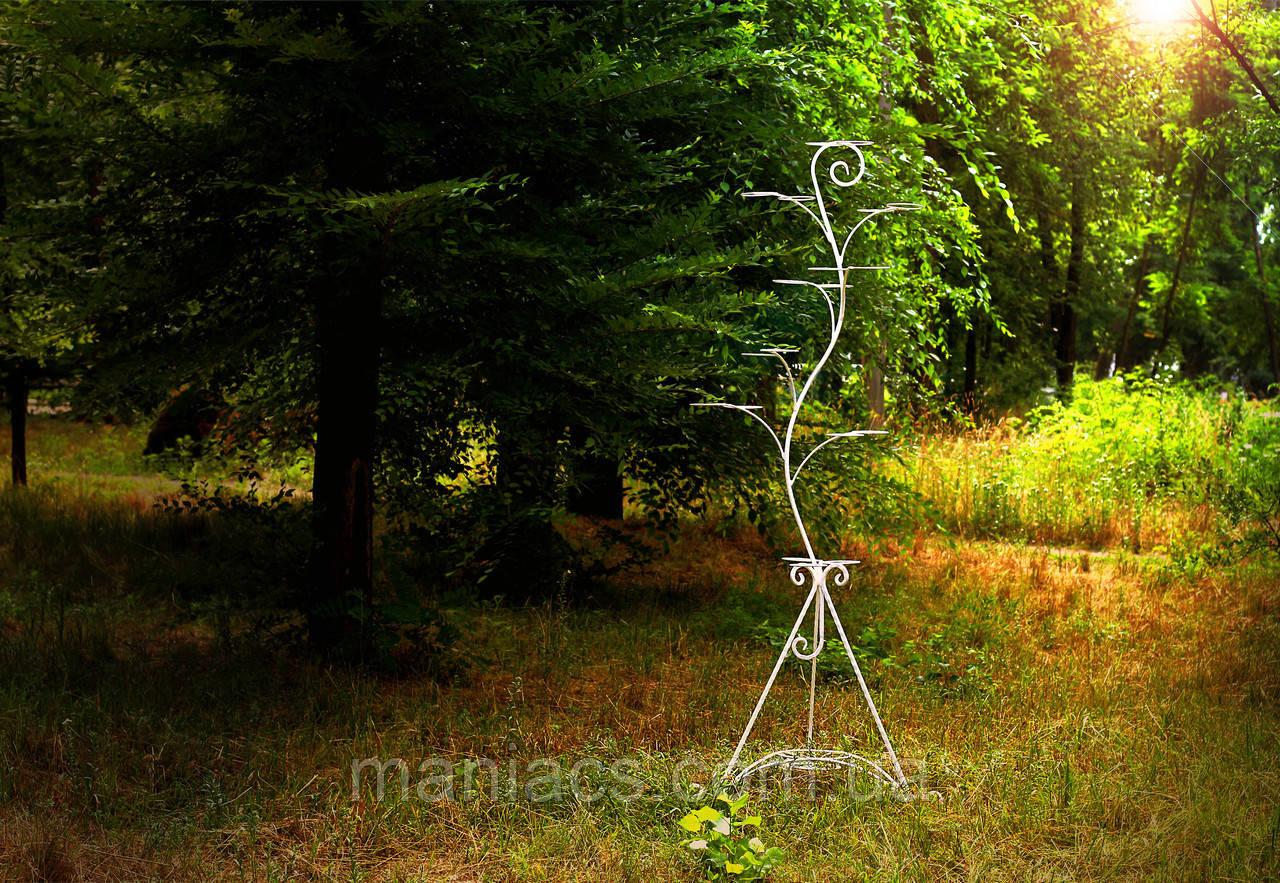 Дерево-3, подставка для цветов на 18 чаш/колец