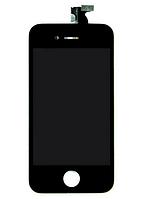 Дисплей с сенсорным экраном iPhone 4 черный, фото 1