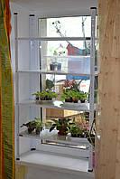 Стеллаж металлический, подставка для цветов на 4 полки, фото 1