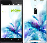 "Чехол на Nokia Lumia 830 цветок ""2265u-329"""