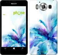"""Чехол на Microsoft Lumia 950 Dual Sim цветок """"2265u-294"""""""