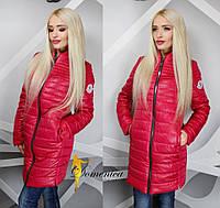 Женская куртка демисезонная удлиненная