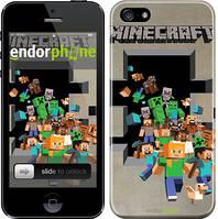 """Чехол на iPhone 5s Minecraft 6 """"3330c-21"""""""