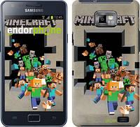 "Чехол на Samsung Galaxy S2 i9100 Minecraft 6 ""3330c-14"""