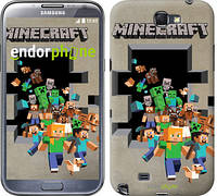 "Чехол на Samsung Galaxy Note 2 N7100 Minecraft 6 ""3330c-17"""