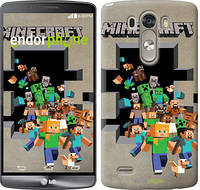 "Чехол на LG G3 D855 Minecraft 6 ""3330c-47"""