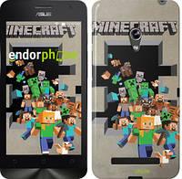 """Чехол на Asus Zenfone 5 Minecraft 6 """"3330c-81"""""""