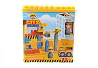 Детский конструктор с крупными деталями 5027/9/313 5 видов в коробке
