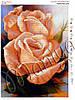 Схема для вышивания бисером Абрикосовые розы