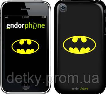 "Чехол на iPhone 3Gs Бетмен логотип ""3201c-34"" - Детки Пром в Киеве"