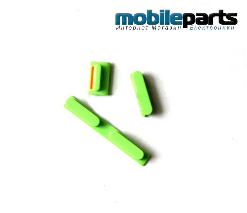 Комплект: питание, громкость, звонок (on,off,volume keys,vibrating button) для Apple iPhone 5C