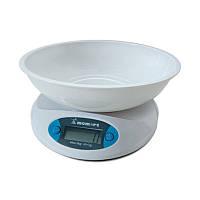 Весы кухонные электронные с чашей на платформе Momert 68001