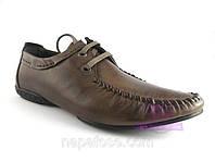 Мужские туфли на шнуровке, фото 1