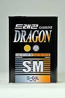 Полусинтетическое моторное масло DRAGON  SM 10W-30