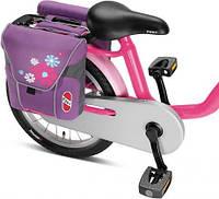 Сумка двойная Puky DT3 лиловая на багажник велосипеда, фото 1
