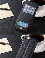 Чехол книжка с вырезами  Для Apple iphone 6+ iphone 6 Plus 5.5  синий