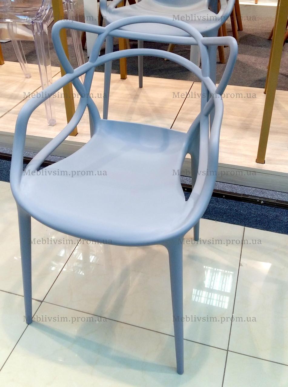 Стул пластиковый АС - 006, серый