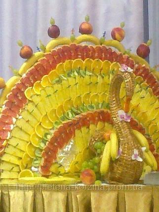 Цветочник плетеный из лозы «Лебедь» Арт.230, фото 2
