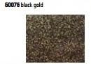 Термоплівка з великими блискітками Siser MODA GLITTER 2 Black Gold ( сисер мода гліттер 2 Чорне Золото )