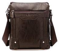 Мужская сумка Barca (Барка), тёмно-коричневая