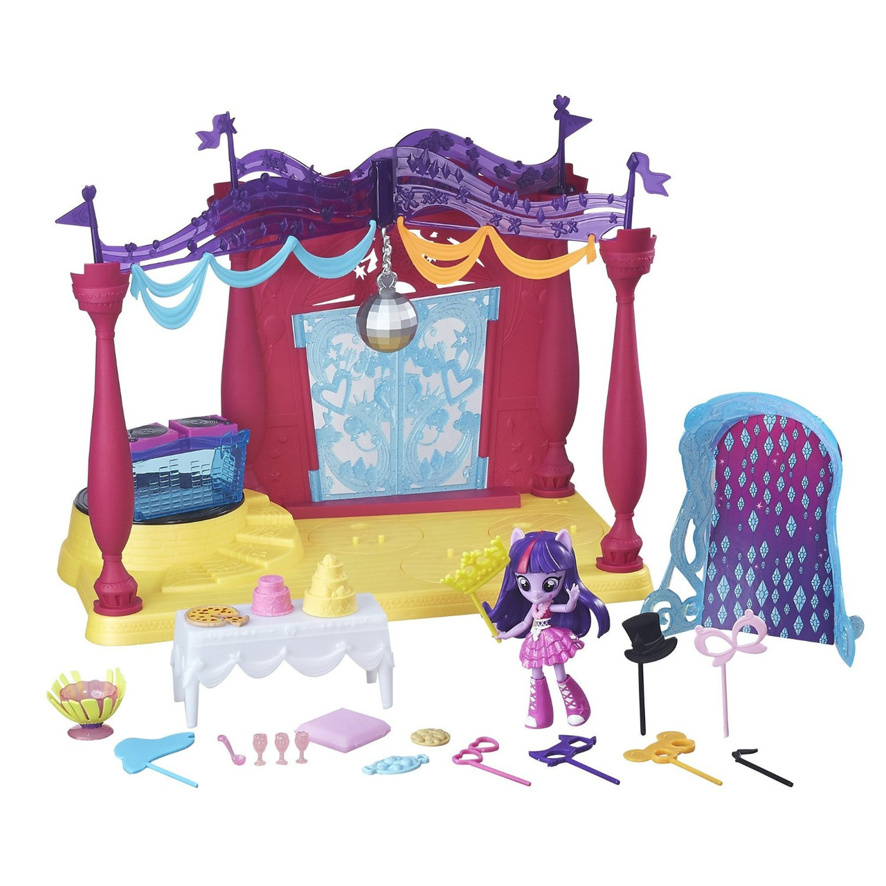 Игровой набор пони Дискотека Твайлайт Спаркл  серия Мy Little Pony Equestria girls