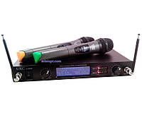 Радиосистема UKC U-4000 (UHF, 2 микрофона)