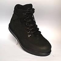 Зимние мужские ботинки кожа натуральные нубук Rosso Avangard Lomerback Original