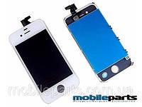 Дисплей (Модуль) + Сенсор (Тачскрин) для Apple Iphone 4 (Белый) (Оригинал Китай, Tianma)