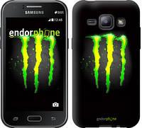 """Чехол на Samsung Galaxy J1 J100H Monster energy """"821c-104"""""""