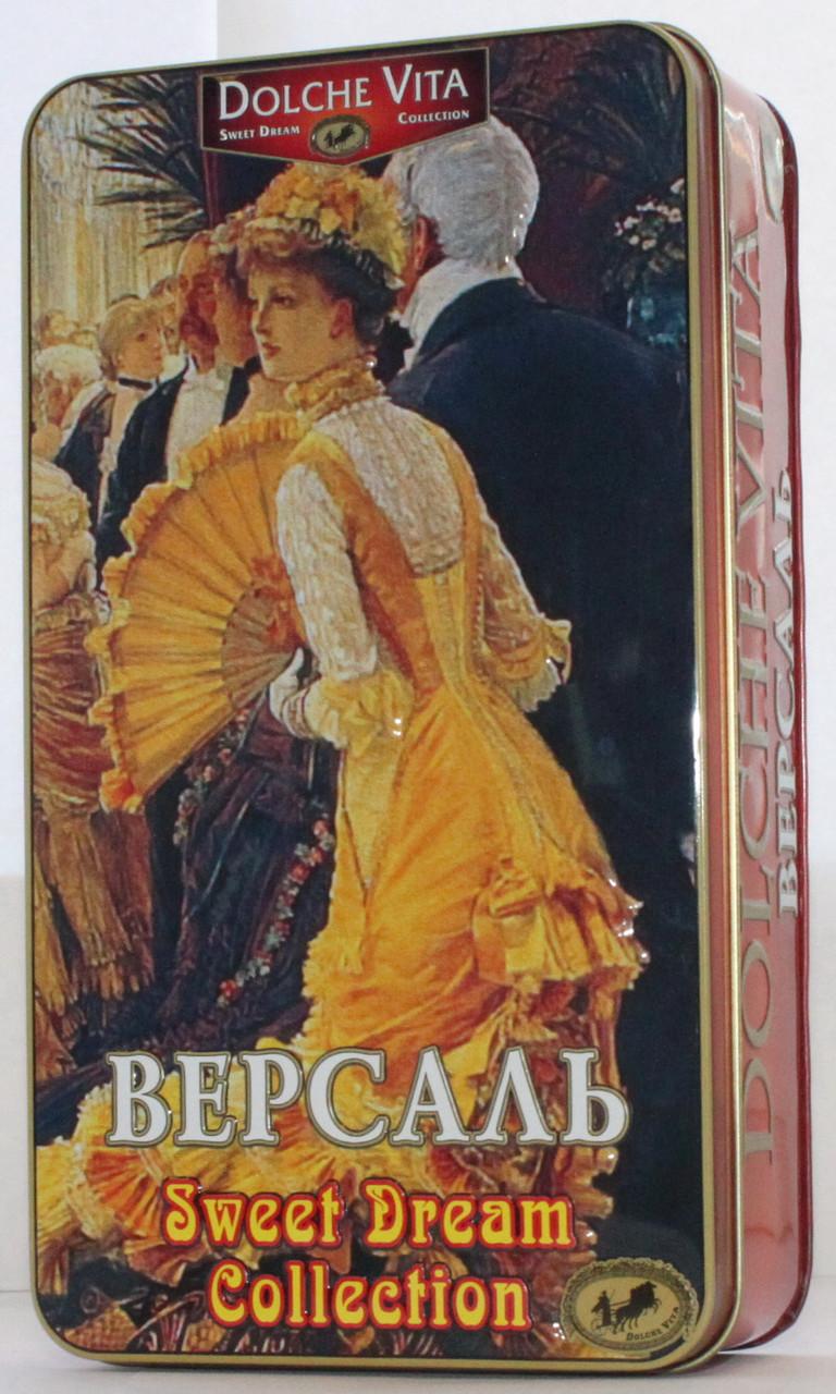 """Чай """"Dolche Vita"""" Дольче Вита Шкатулка """"Версаль"""" 175 г ж/б"""