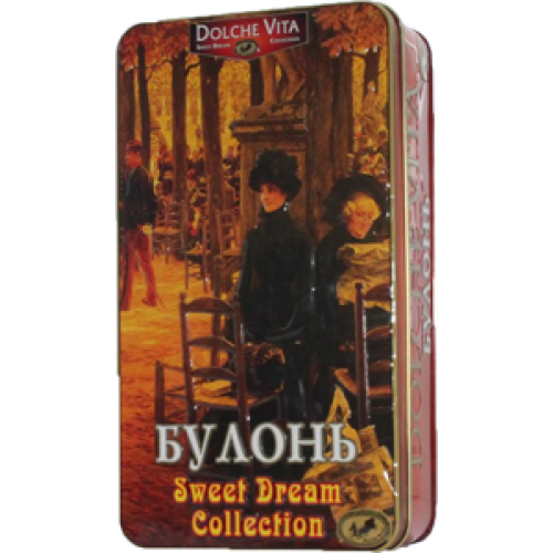 "Чай ""Dolche Vita"" Дольче Вита Шкатулка ""Булонь"" 175 г ж/б"