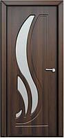 Двери межкомнатные Сабрина ПО орех шоколадный (Неман)