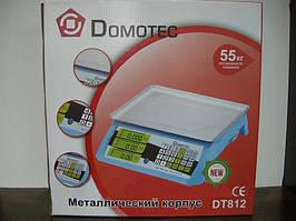 Весы торговые  55кг  DOMOTEC 812    . e