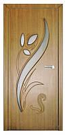 Двери межкомнатные Тюльпан ПО дуб золотой (Неман)