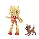 Игровой набор с куклой Эпплджек мини Пижамная вечеринка серия Мy Little Pony Equestria girls, фото 6