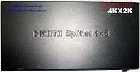 Сплитер HDMI (1гн. HDMI- 8гн. HDMI) Full Version 1.4 HD-SP108N
