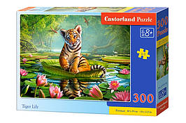Пазлы Castorland  300шт (030156) 40*29 Тигр Лили