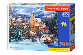 Пазлы Castorland  300шт (030194) 40*29 Зима