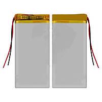 Батарея (АКБ, аккумулятор) для китайских мобильных телефонов, универсальная (1100mAh), 73*39*3,6 мм