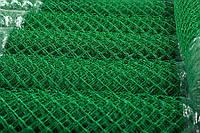 Сетка Рабица  с полимерным покрытием ячейка 25х25 мм проволока 1.65/2.5 мм высота рулона 1-2 м