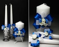 Свадебные свечи 33