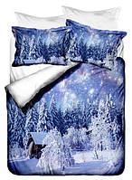 Постельное белье с зимними пейзажами
