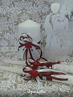Свадебные свечи 45