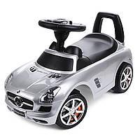 Детская машинка каталка, толокар ПОЛЬША Mercedes-Benz  SLS с автопокраской