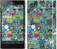 "Чехол на Sony Xperia Z3 Compact D5803 Стикер бомбинг 1 ""693c-277"""