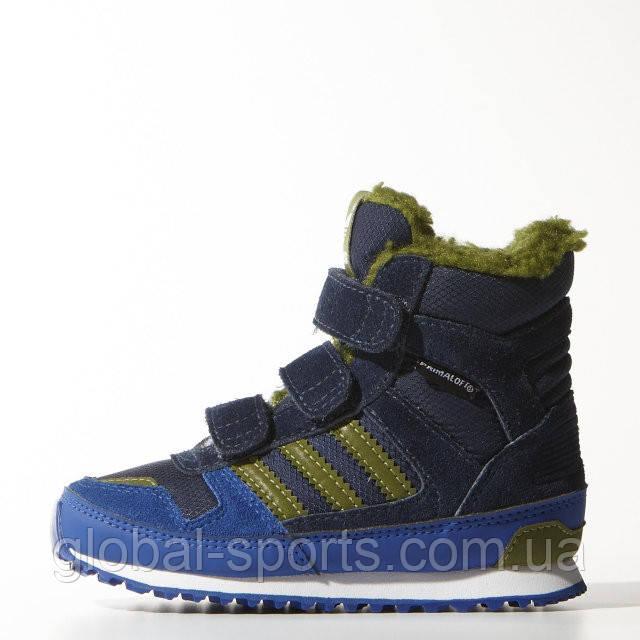 Детские зимние ботинки Adidas ZX WINTER, (Артикул  M17950) - Global Sport в 43f72f78f13