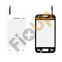 Тачскрин (сенсор) Samsung Galaxy Star 2 G130E, цвет белый, на 2 sim карты