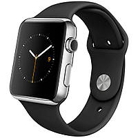 Умные часы Smart Watch IWO2 Black\Silver 1:1 копия apple watch