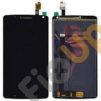 Дисплей Lenovo S930 с тачскрином в сборе, цвет черный